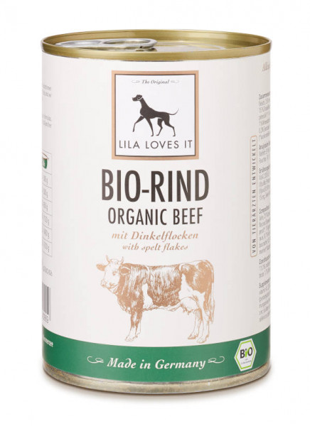 BIO-RIND MIT DINKELFLOCKEN - LILA LOVES IT